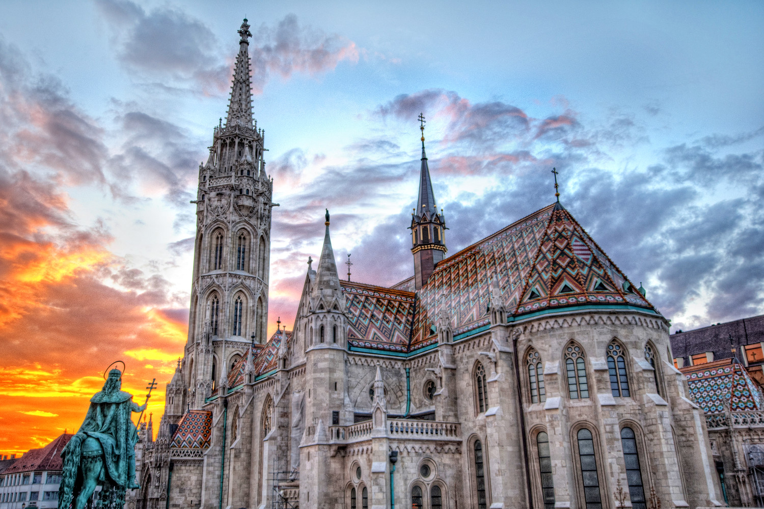 Top 10 Things to do in Budapest: The Matthias Church