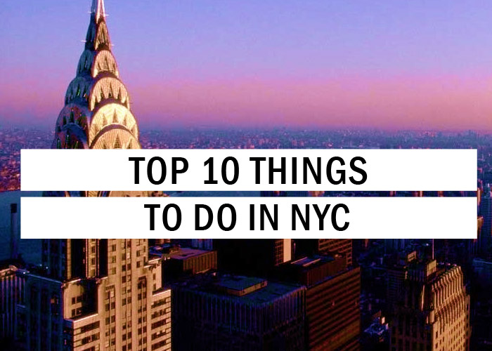 Top 10 things to do in nyc travel tips trythis for Places to explore in nyc