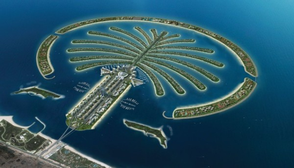 Palm Islands & The World